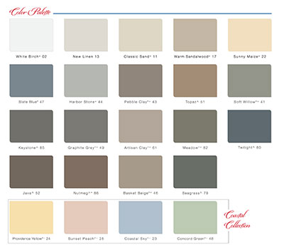 Vinyl Siding Color Choices